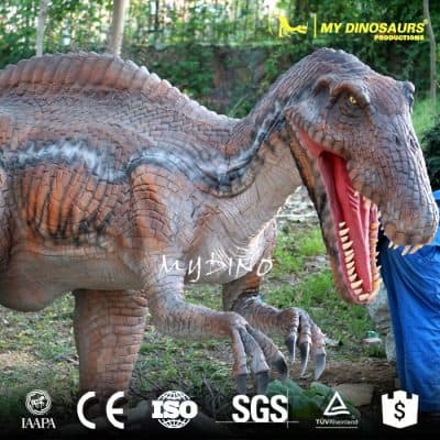 moving animatronic dinosaur