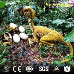 Life Size Animatronic Dinosaur Eggs