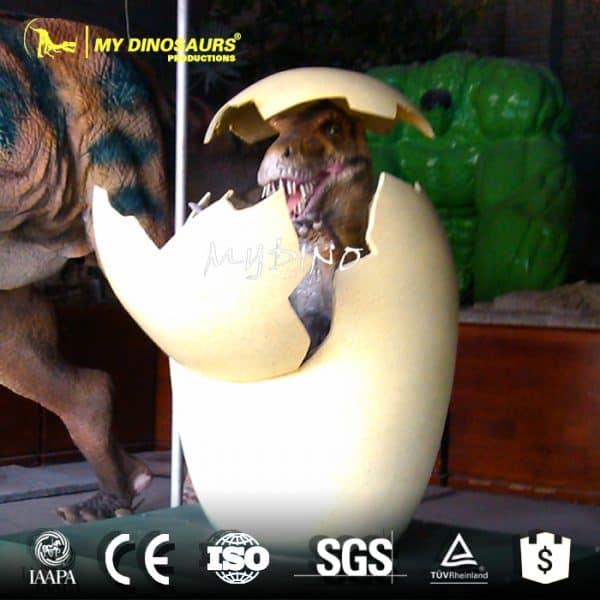 Robot dinosaur eggs 1