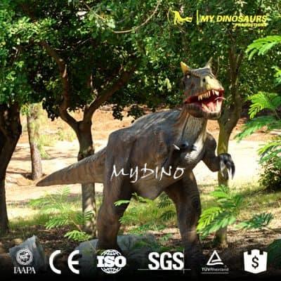 animation dinosaur sculpture