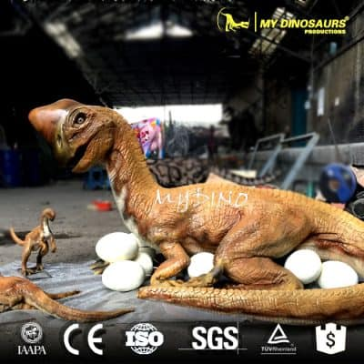 Playground Equipment Artificial Growing Dinosaur Egg