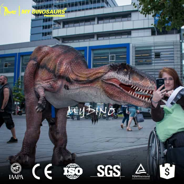 animatronic dinosaur costume adult