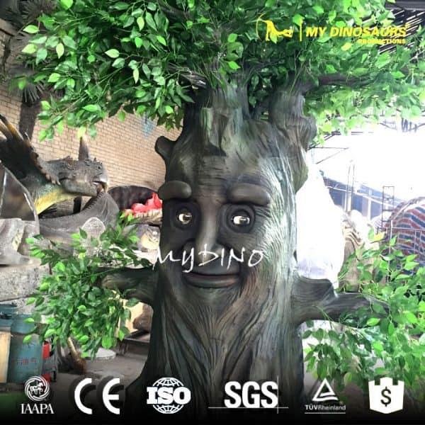 animatronic robotic tree