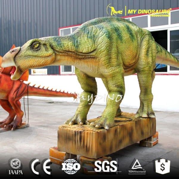 artificial dinosaur iguanodon