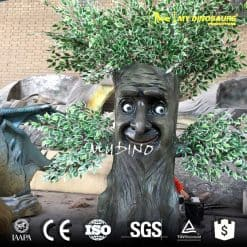 Outdoor Fiberglass Statue Artificial Plants