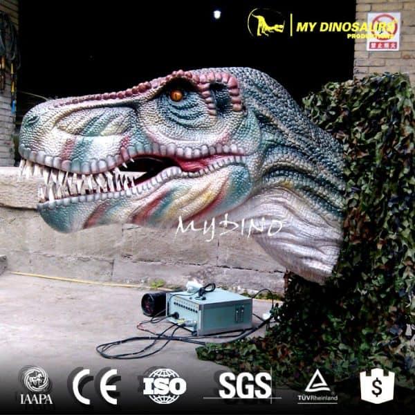 dinosaur head wall mounted