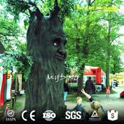 large outdoor artificial trees
