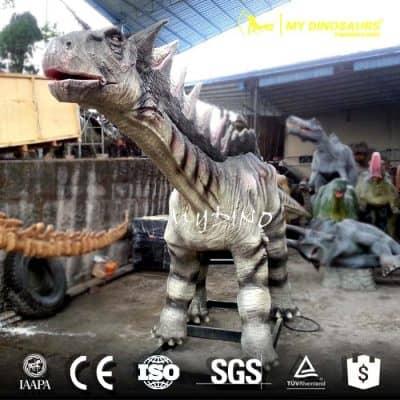 life size Amargasaurus