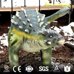 life size Ankylosaur Dinosaurio