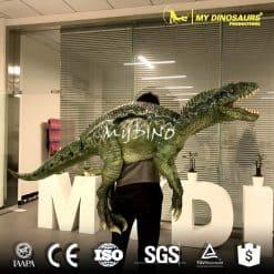 life size velociraptor puppet