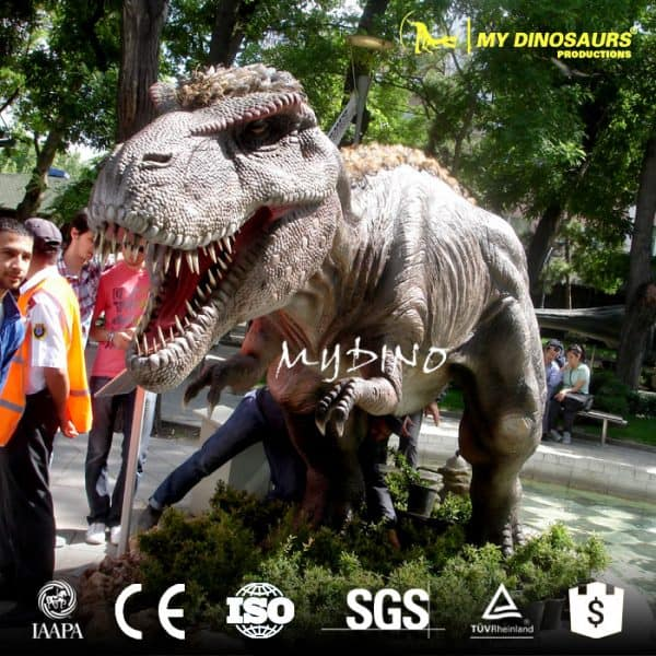 life sized dinosaur