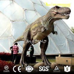 lifelike animatronic dinosaur 1