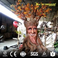 park 3d artificial talking tree