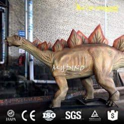simulation dinosaur animatronic stegosaurus