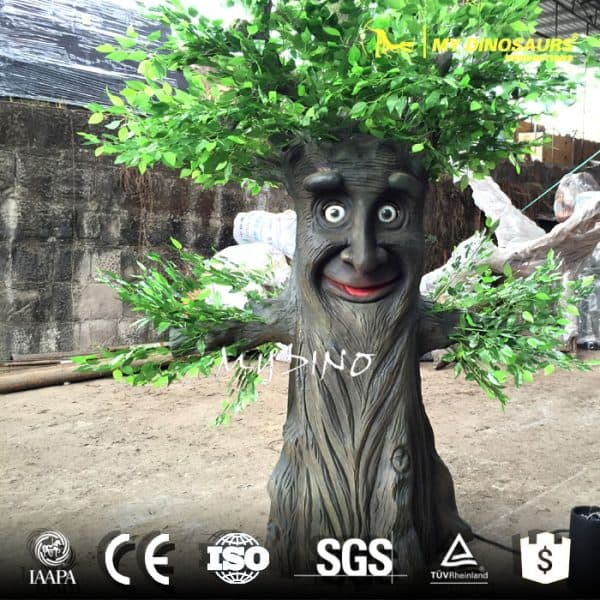 talking tree in christmas decoration
