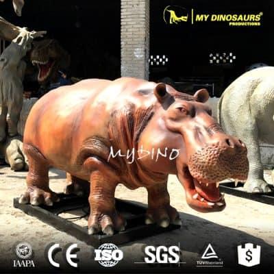 Animatronic Animal Hippo