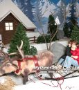Christmas decorations animatronic reindeer