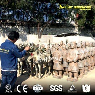Qin Shi Huang's Buried Sculpture