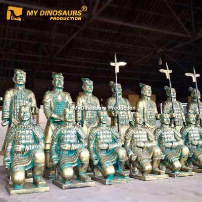 Terra Cotta Warriors statue