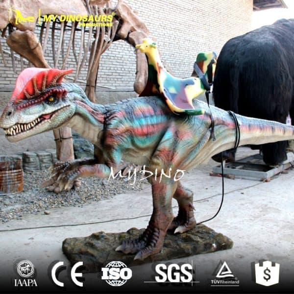 animated dinosaur rides