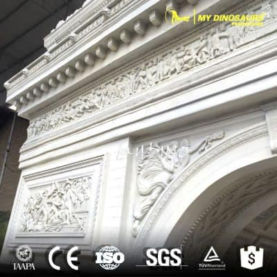 Triumphal Arch Replica Buildings Of Famous Tourist Attractions