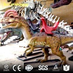 animated walking dinosaur ride