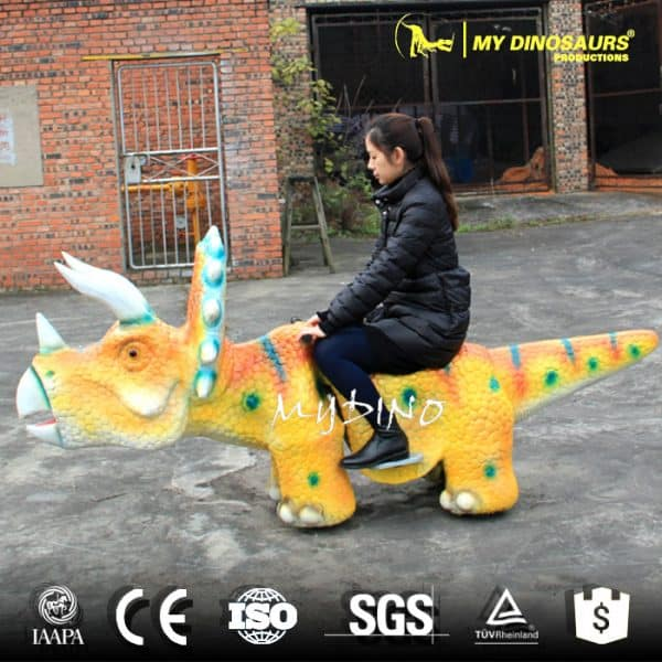 electric dinosaur scooter