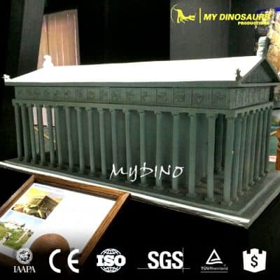 3d Models Famous Theme Park Buildings Mini Parthenon