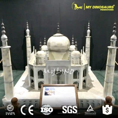 india taj mahal in miniature