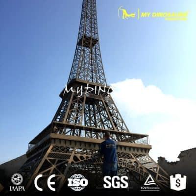 Eiffel Tower Steel Model