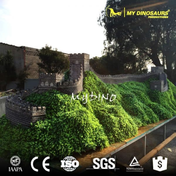 Miniature Building Model the Great Wall