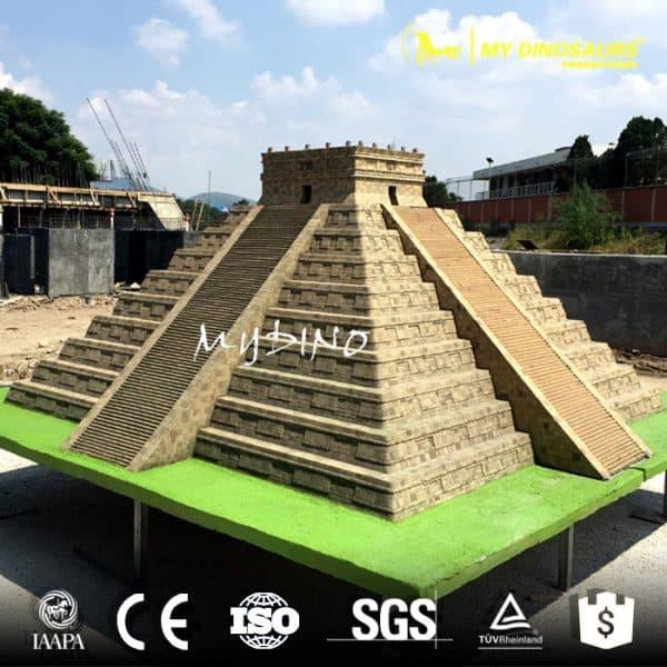 miniature park sculpture Chichen Itza