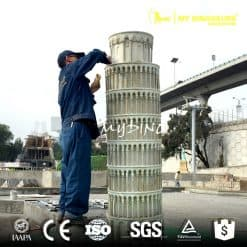 Custom Made Miniature City Sculpture Simulation Landmark Building Replica