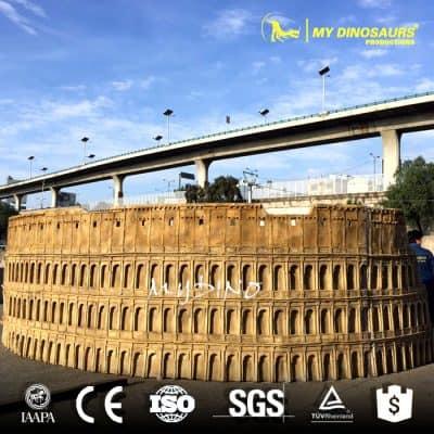 Fiberglass Colosseum Replica
