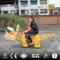 Carnival Ride on Dinosaur for Amusement Park Event