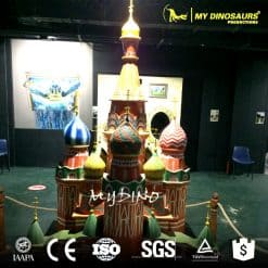 3d Resin Architecture Models Theme Park Famous Buildings