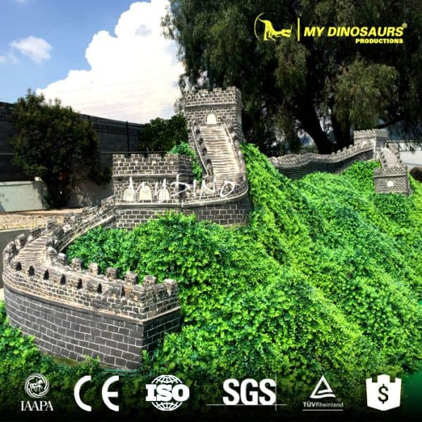 the great wall in miniature