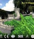 Museum 3D miniature building the Great Wall
