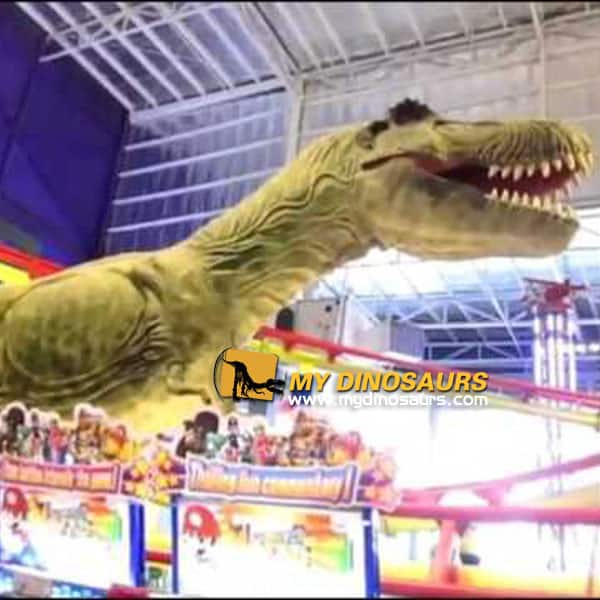 Indoor dinosaur theme park
