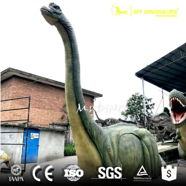 Customization dinosaur brachiosaurus