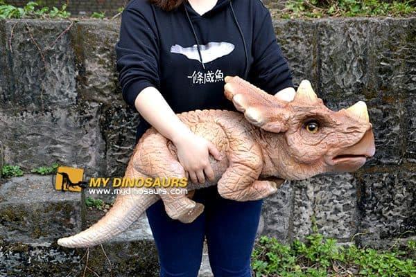 baby dinosaur hand puppet 4