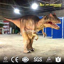 lifelike adult dinosaur costume allosaurus