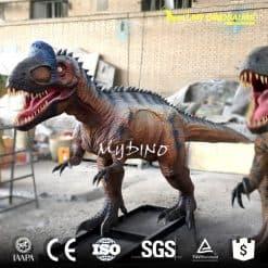 Cryolophosaurus model 1