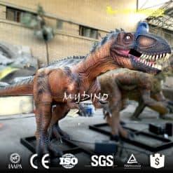 Cryolophosaurus model