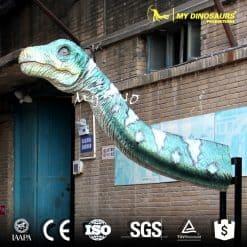 Hanging dinosaur head
