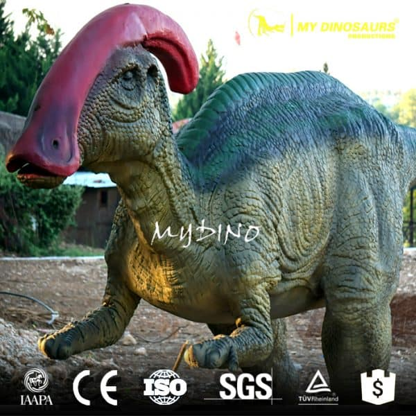 Parasaurolophus model