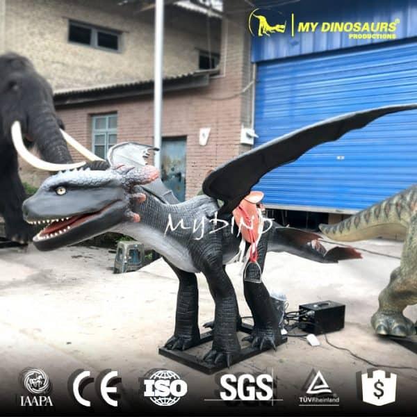 Park Animatronic Dragon Ride