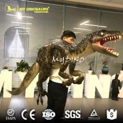 Velociraptor dinosaur puppet
