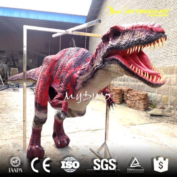 adult velociraptor costume