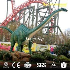 amusement life size fiberglass dinosaur 3